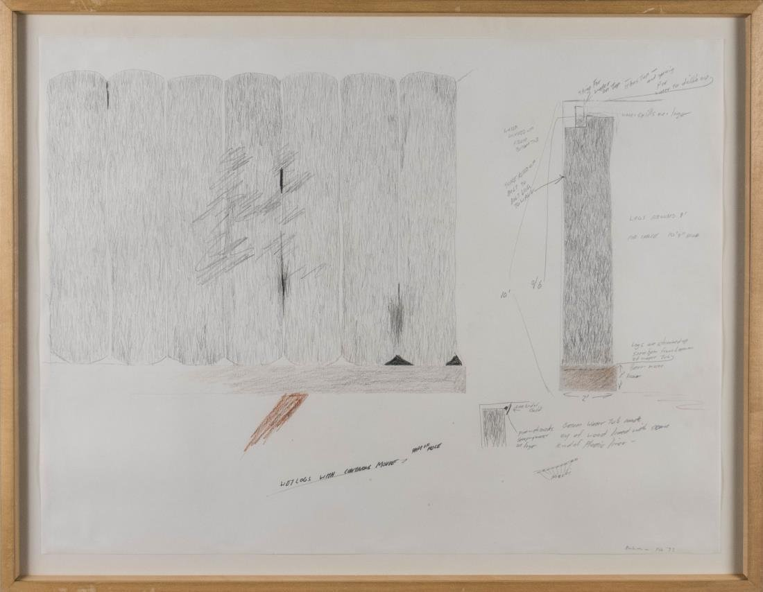 Drawing of Instructions for Log Structure (1993)