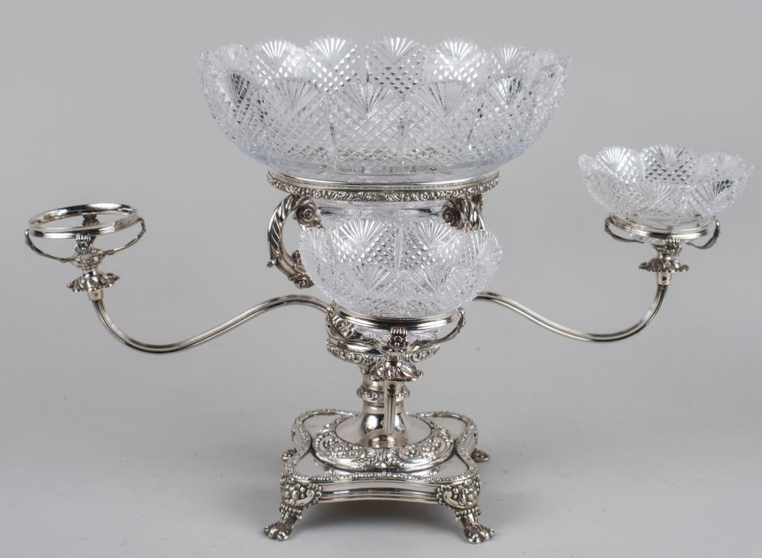 Silver Plated Epergne - 2