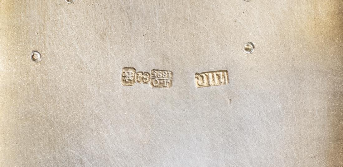 Russian Diamond Set Silver Cigarette Case   * - 6