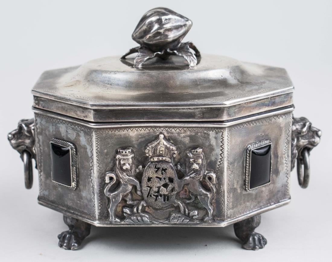 Russian / Polish Silver Etrog   *