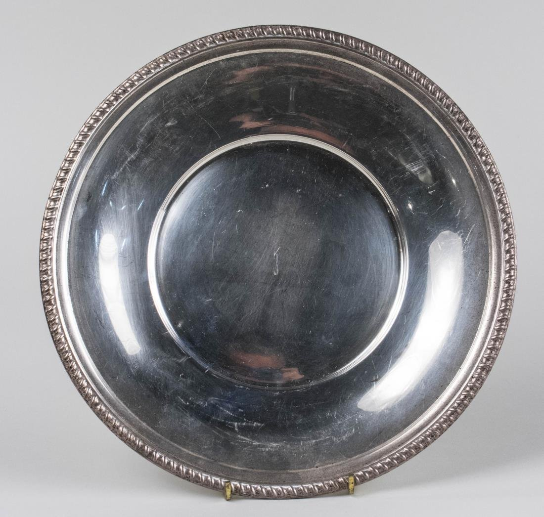 Tuttle Sterling Silver Cake Plate