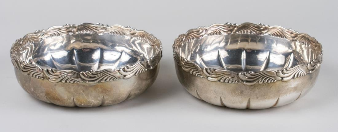 Pair of Tiffany & Co. Sterling Silver Bowls