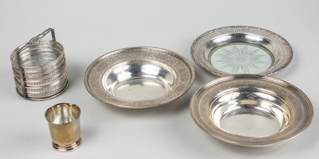 Group of Sterling Silver Table Articles   *