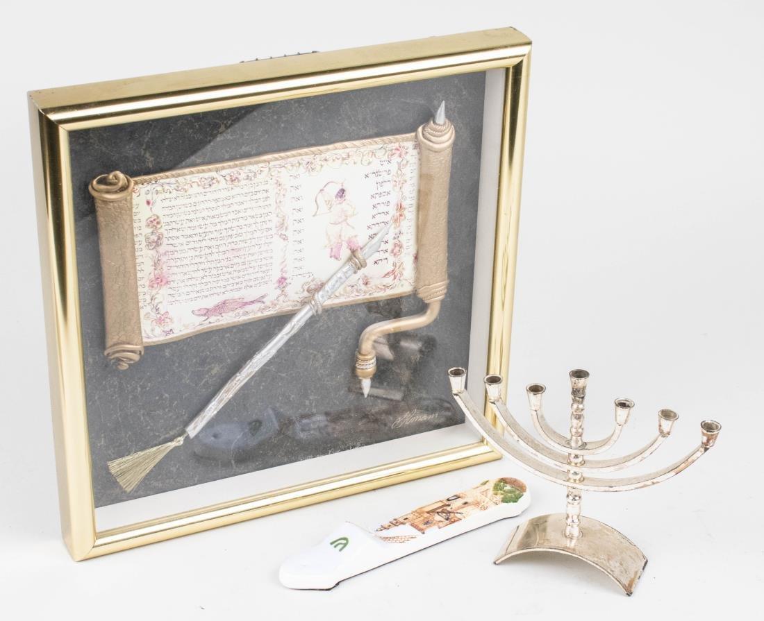 Three Judaica Decorations