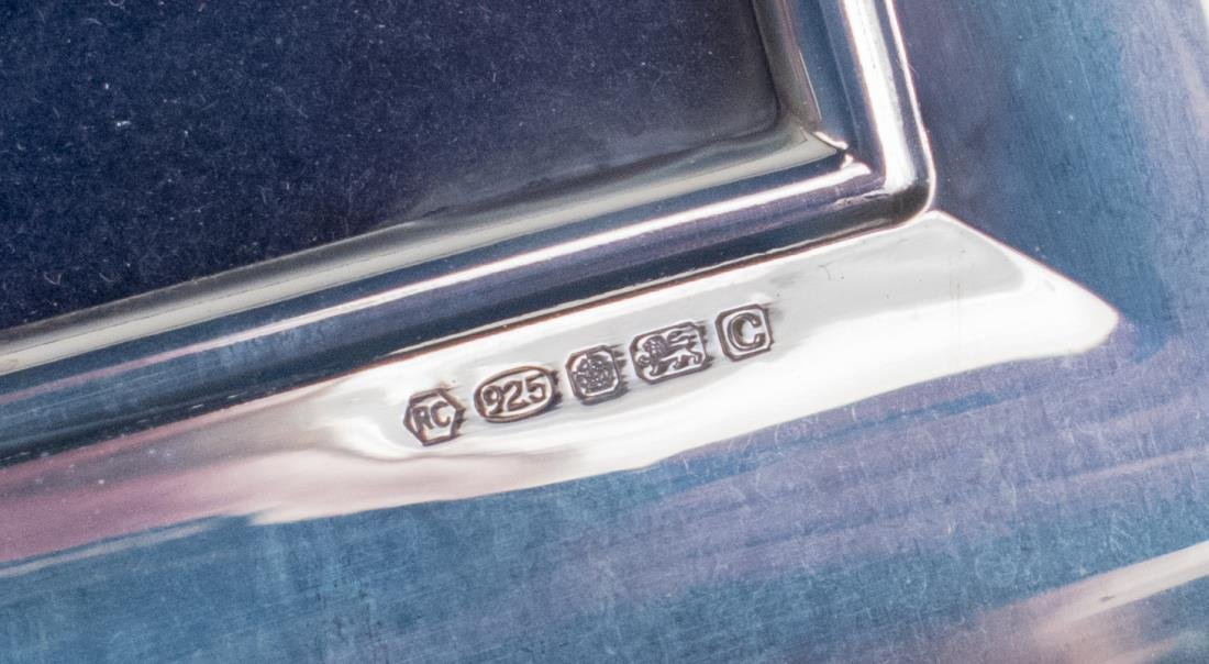 Pair of English Silver Picture Frames - 2