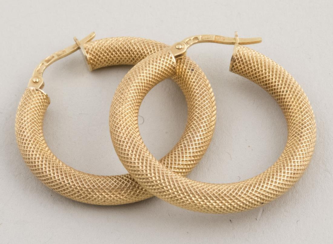 Italian Gold Earrings   *