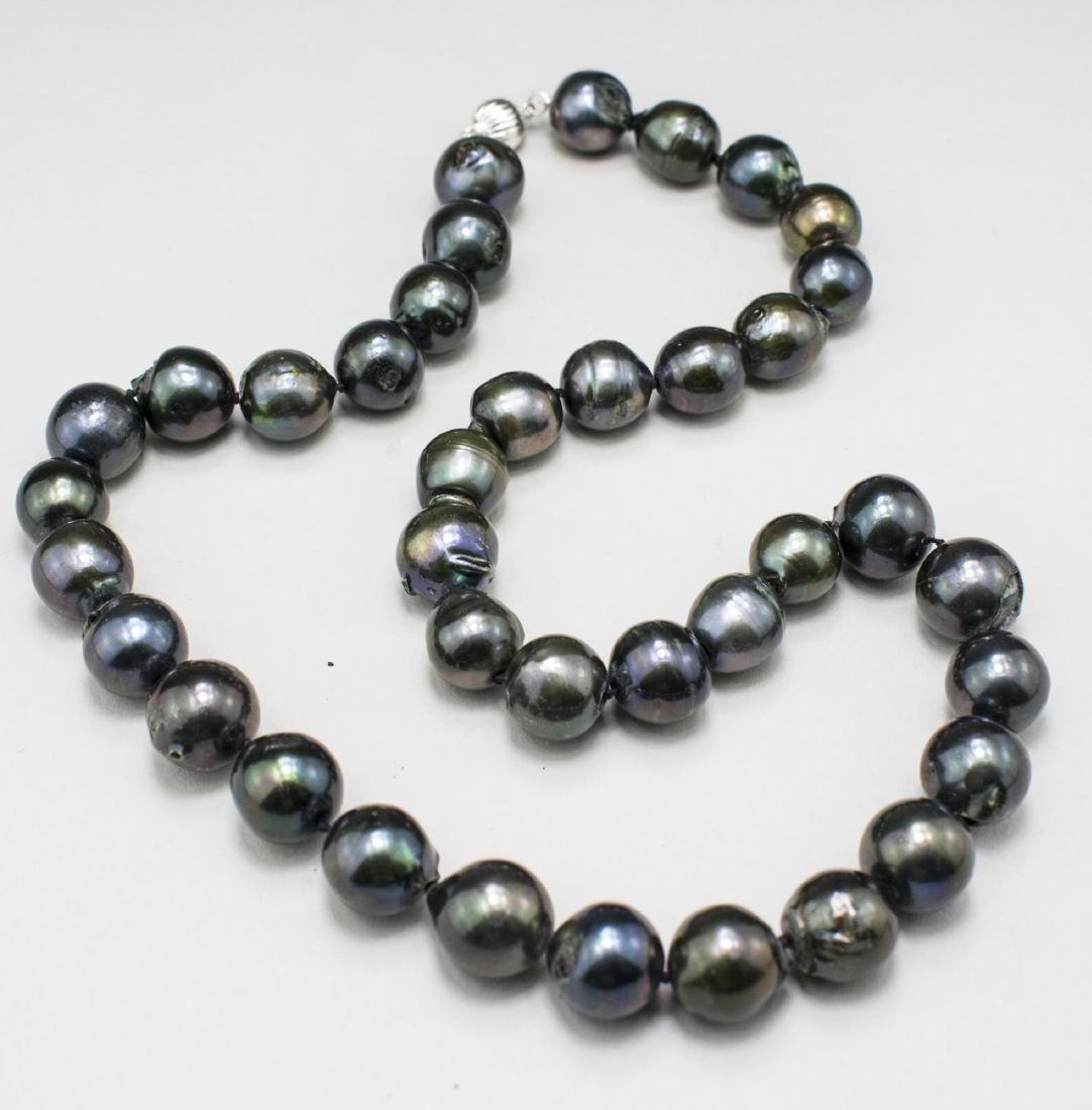 Black Pearl Necklace   *
