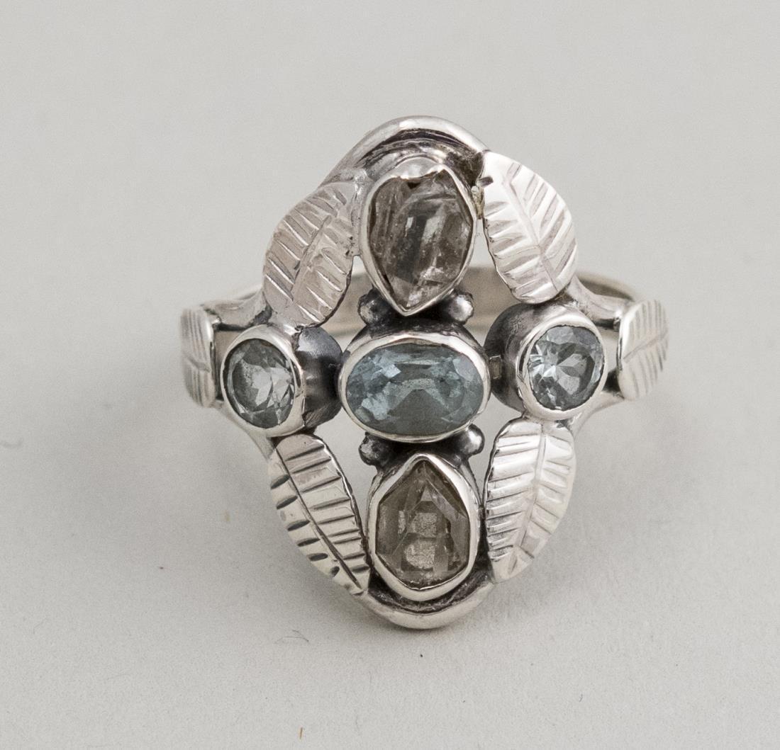 Herkimer Diamond Ring   *