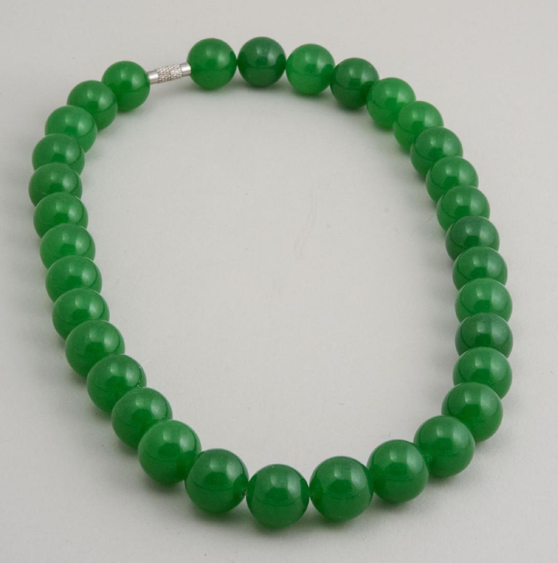 Jade Quartz Necklace   *