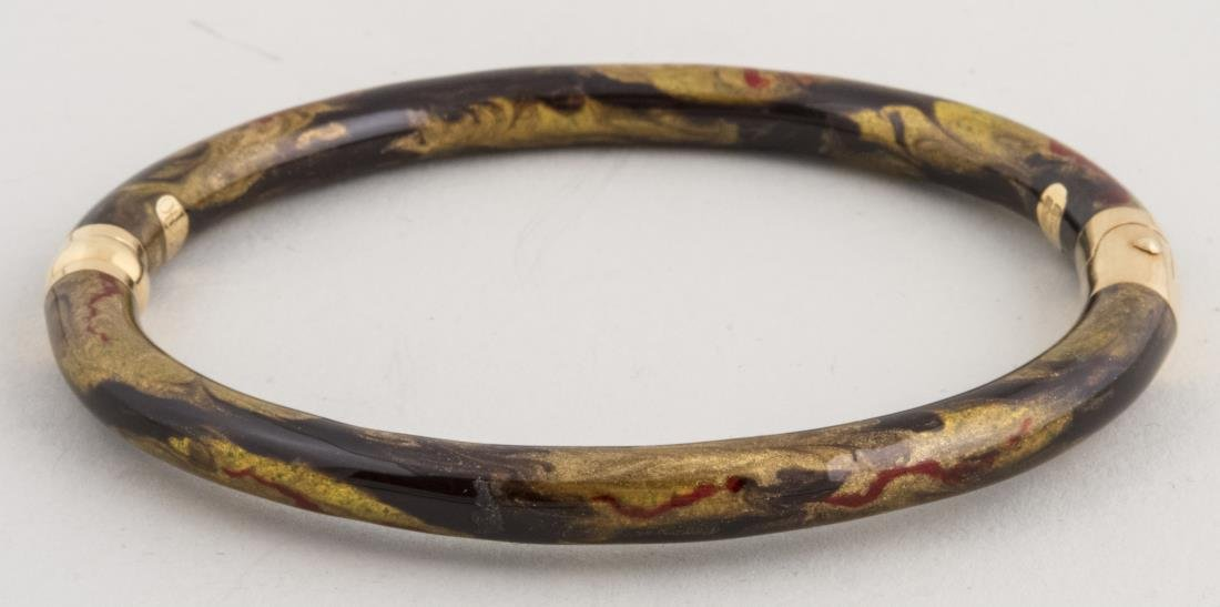 SoHo Enamel Bangle