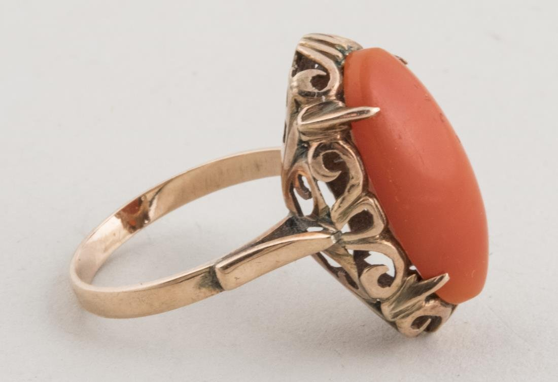 Coral Ring   * - 2