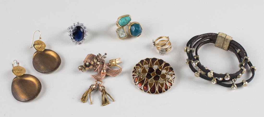 Group of Fine and Costume Jewelry