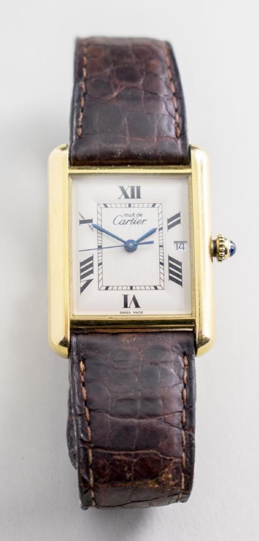 Vintage Cartier Tank Watch   *
