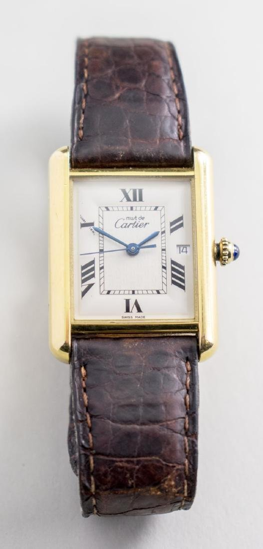 Vintage Cartier Tank Watch   *