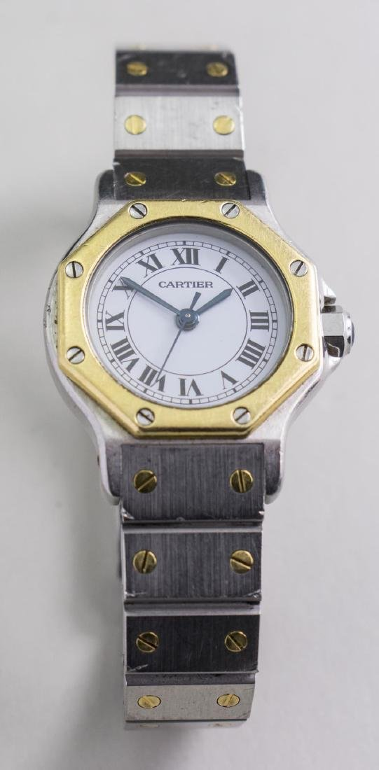 Cartier Santos Lady's Watch   *