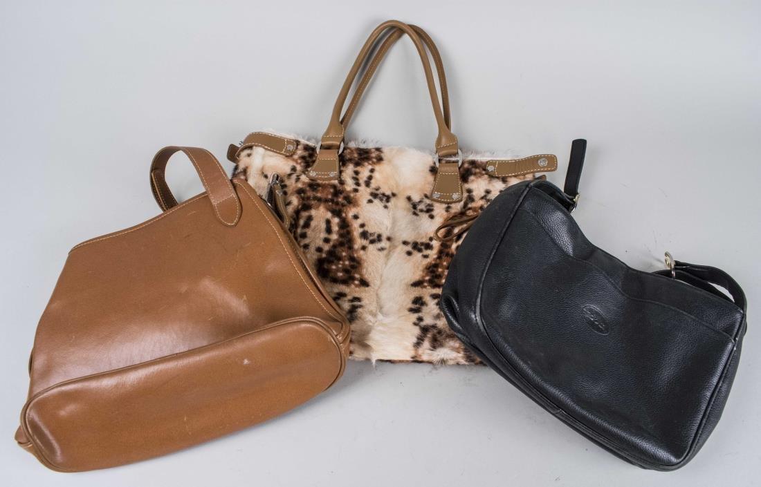 Three Longchamp Handbags