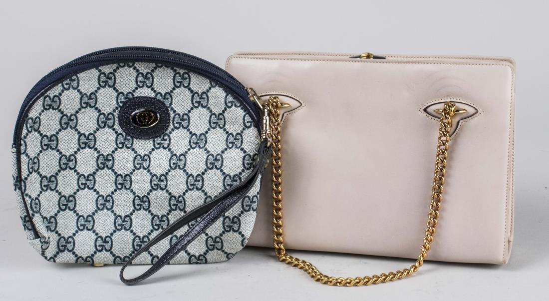 Gucci Beige Calf Handbag