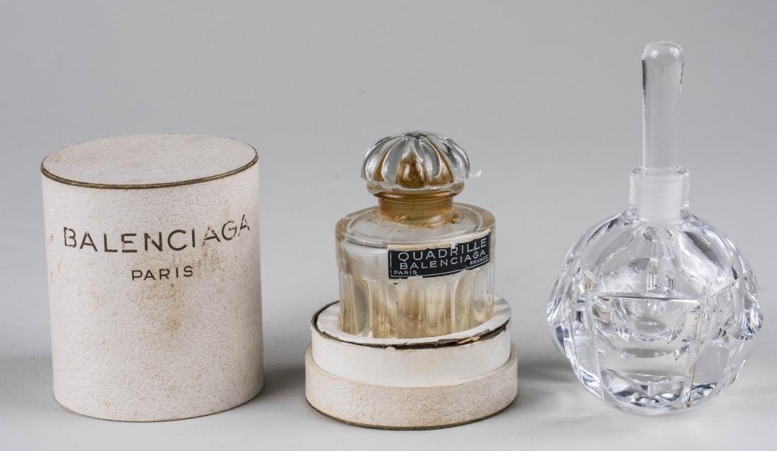 Two Perfume Bottles