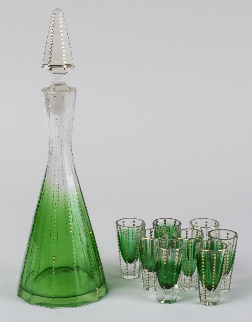 Art Deco Style Liqueur Set