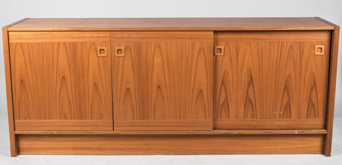 Contemporary Danish Modern Credenza