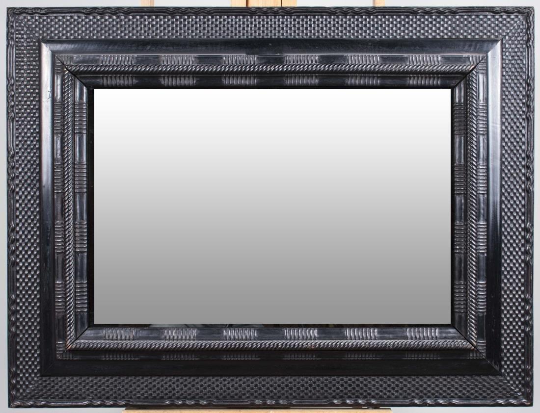 Black Painted Mirror