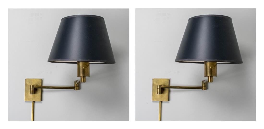 Pair of Bed Sconces / Lamps