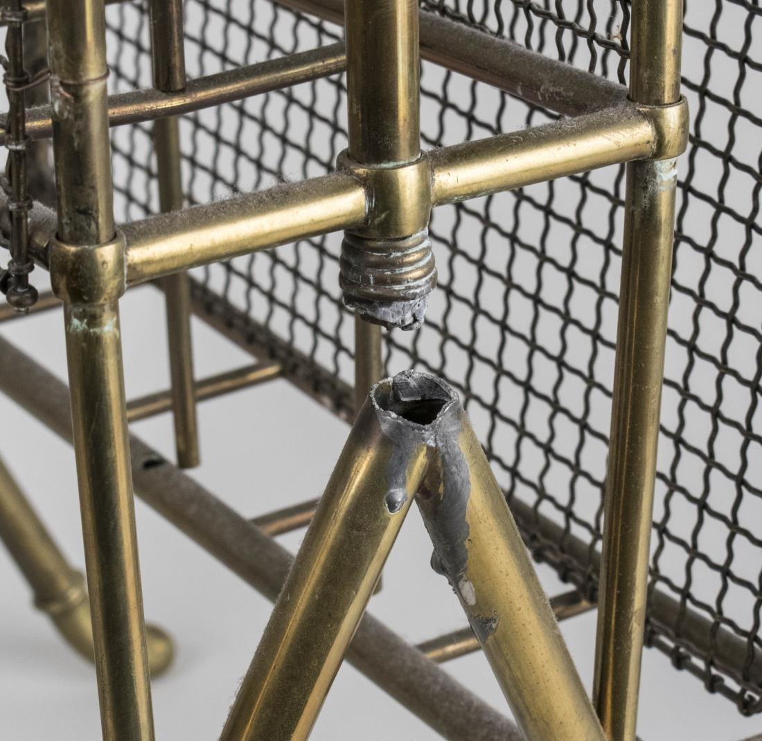 Brass Magazine Rack - 2