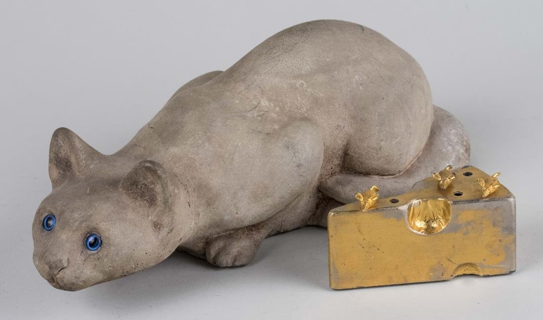 Composition Figure of a Cat