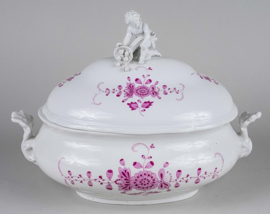 Meissen Porcelain Tureen