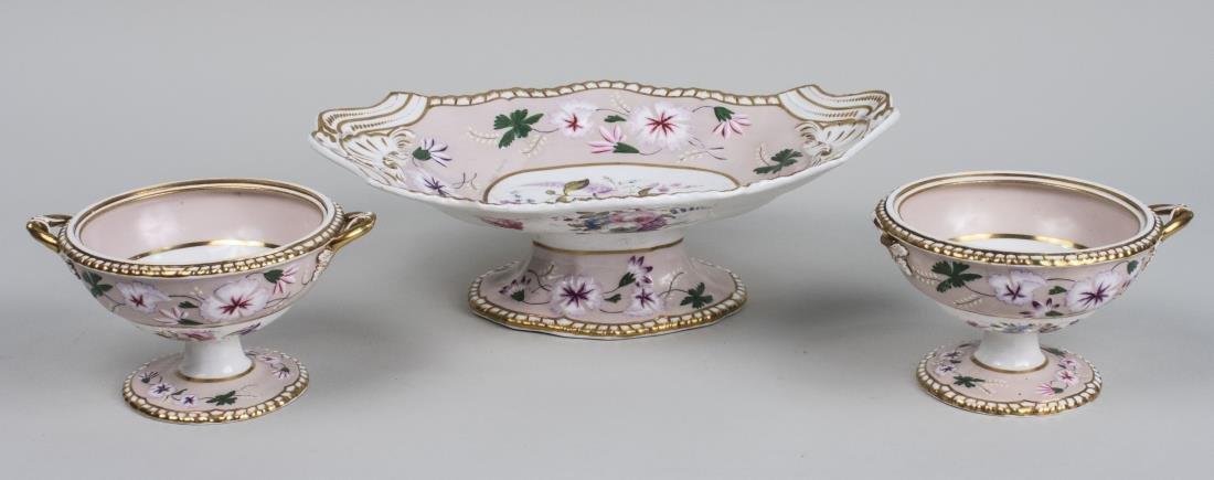 Spode Feldspar Porcelain Dessert Set