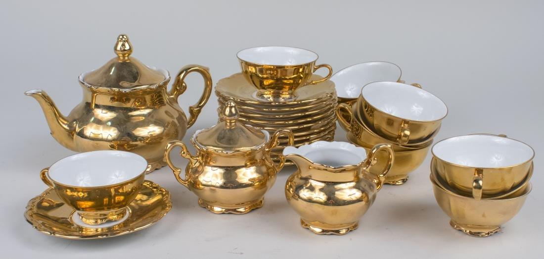 Bavarian Mitterteich Porcelain Tea Service