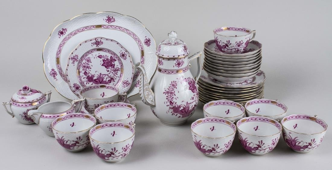 Herend Porcelain Dessert Service