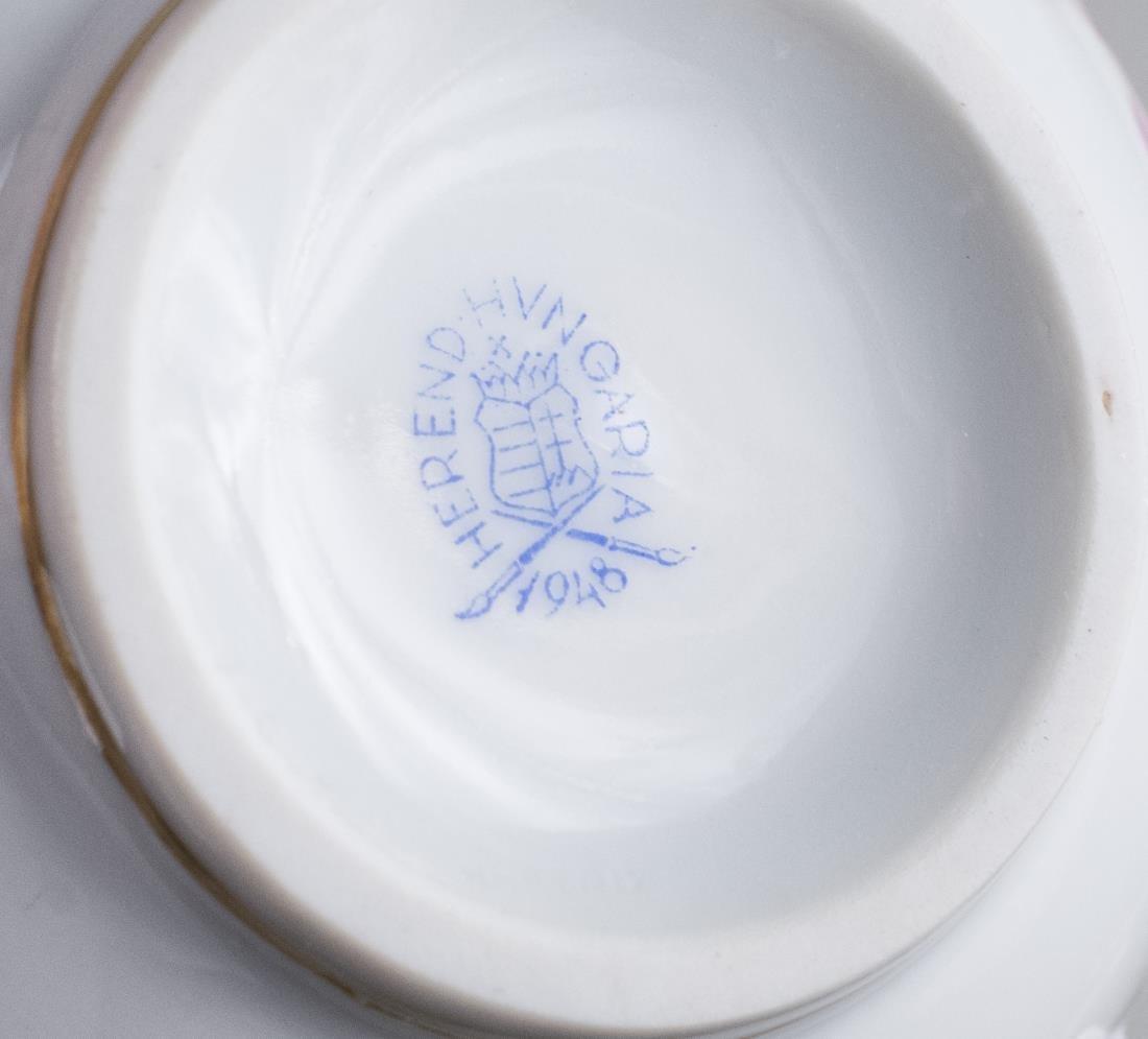 Herend Porcelain Dessert Service - 2
