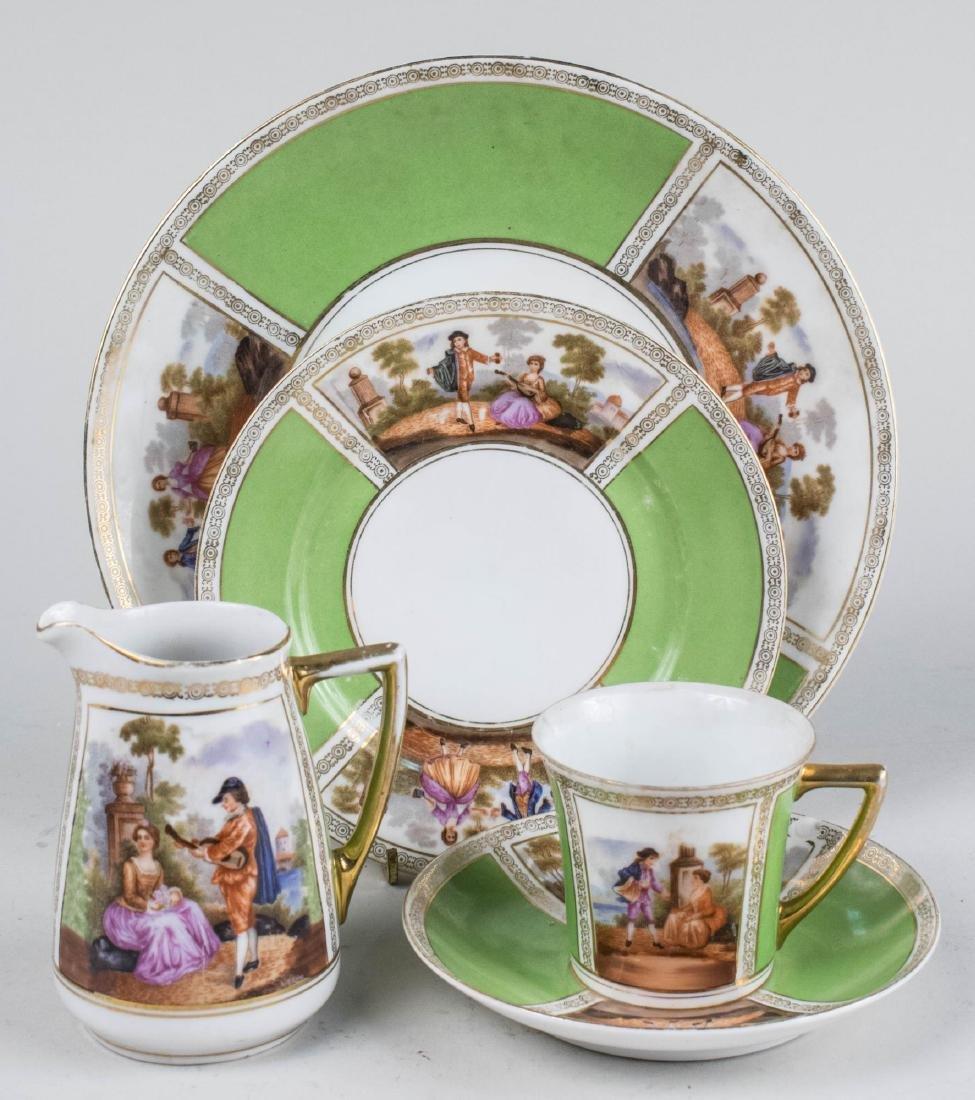 Epaig Czech Porcelain Dessert Service