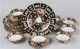 Royal Crown Derby Porcelain Partial Dinner Service