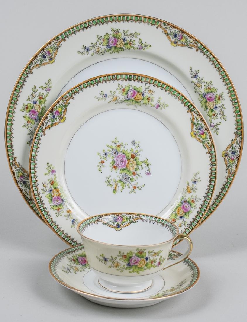 Japanese Porcelain Dinner Service