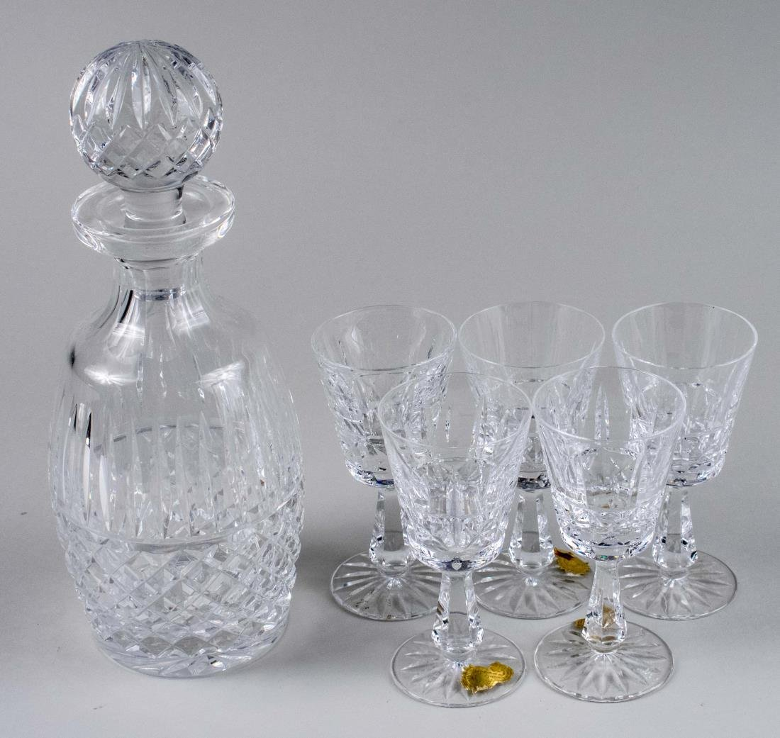 Assembled Waterford Crystal Liqueur Set
