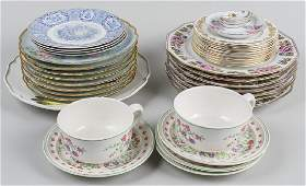 Group of Porcelain Table Articles