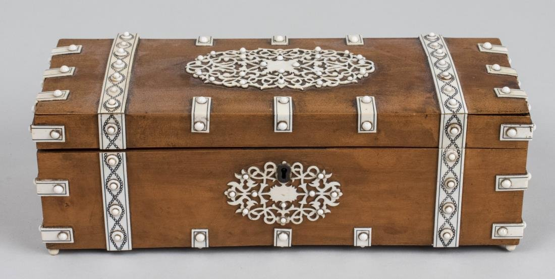 Anglo Indian Glove Box