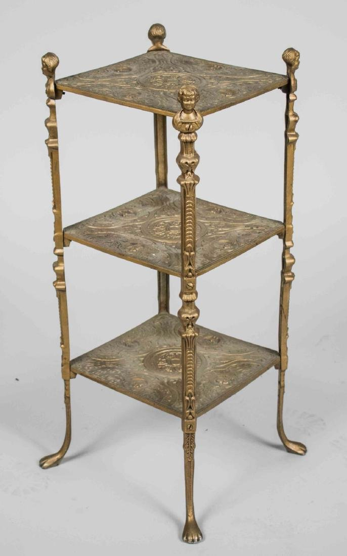 Metal Three Tier Stand