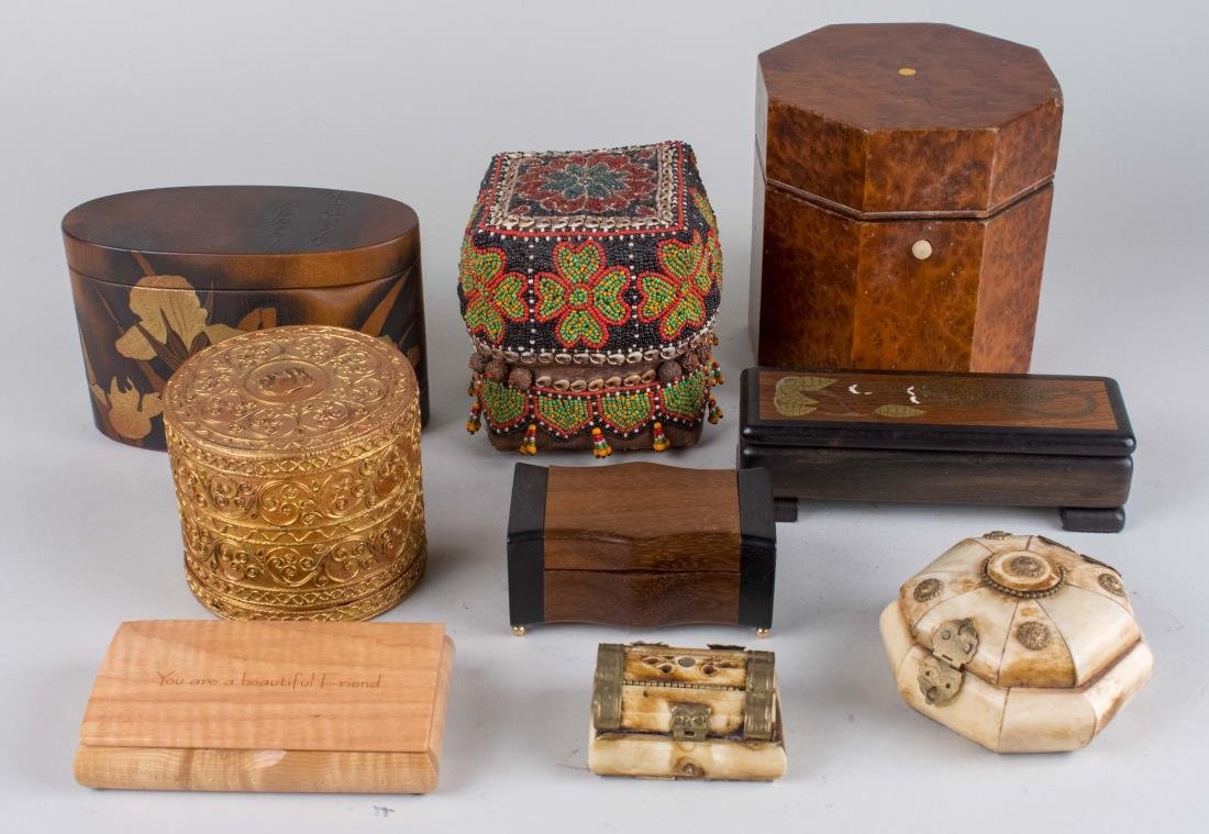 Group of Decorative Boxes