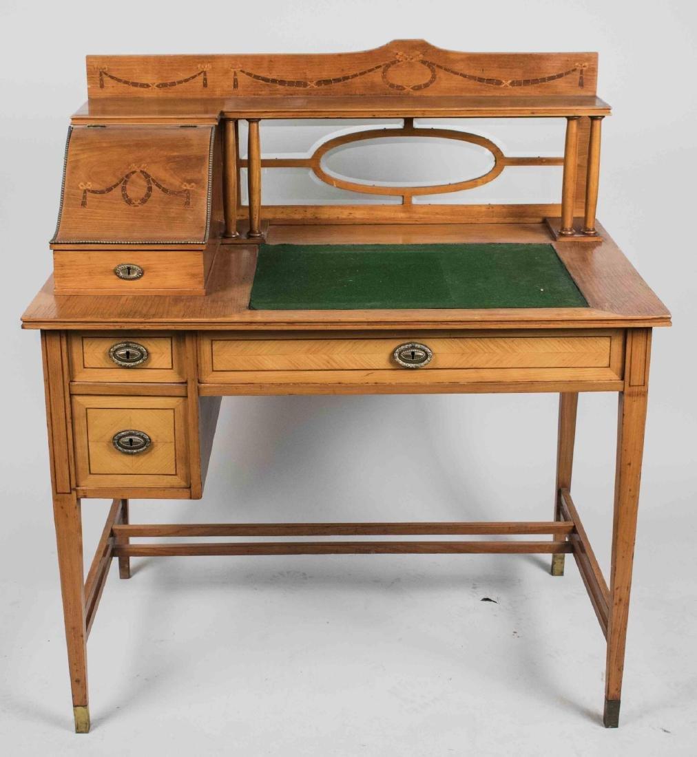 Viennese Fruitwood Albrecht Pasternak Desk