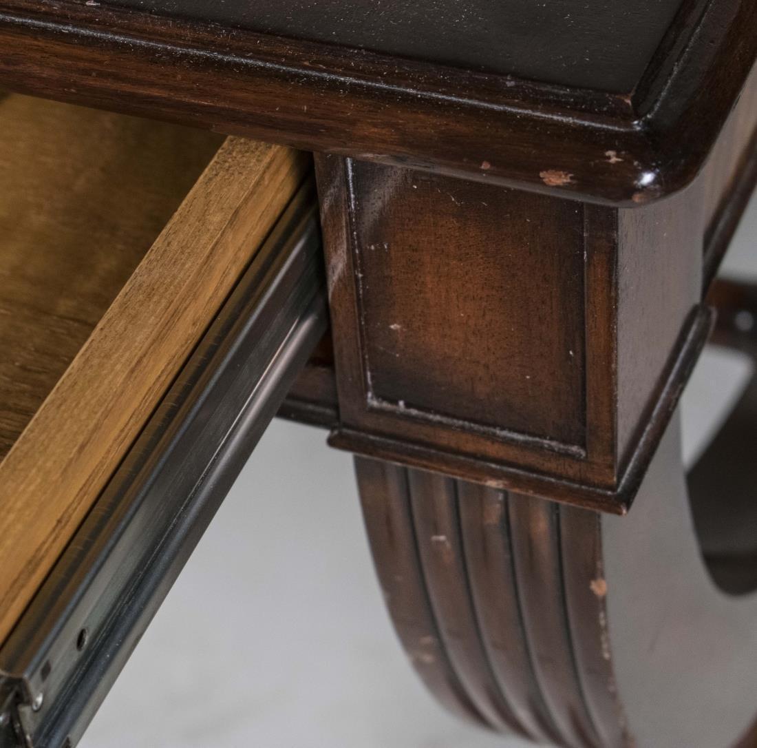 Leather Top Desk - 4