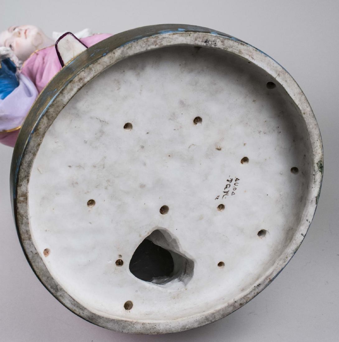 Pair of Bisque Porcelain Figures - 7