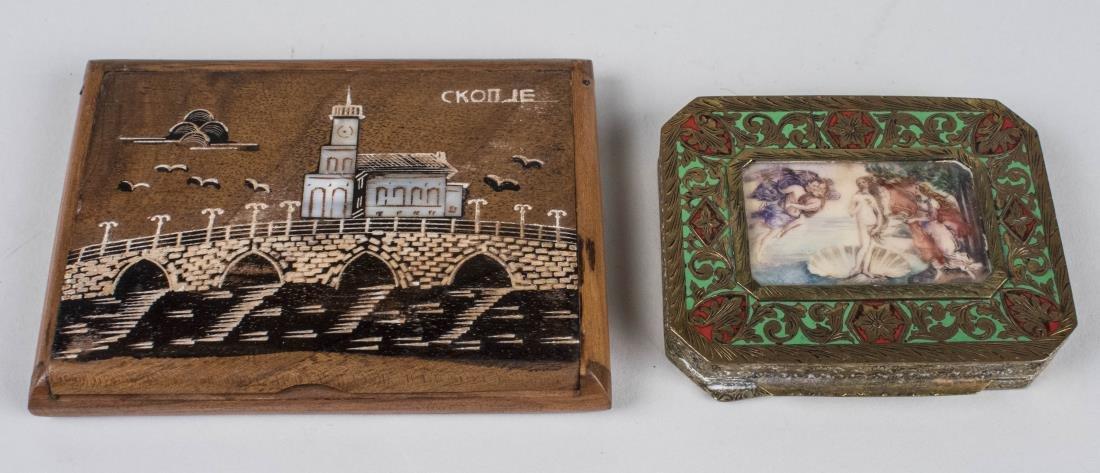 Two Trinket Boxes