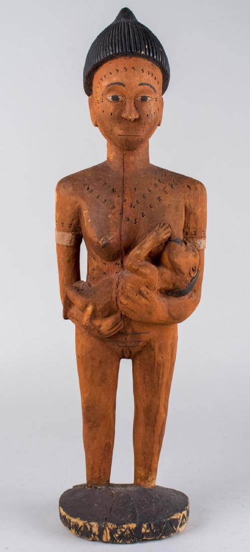 Ethnographic Carved Wood Figure