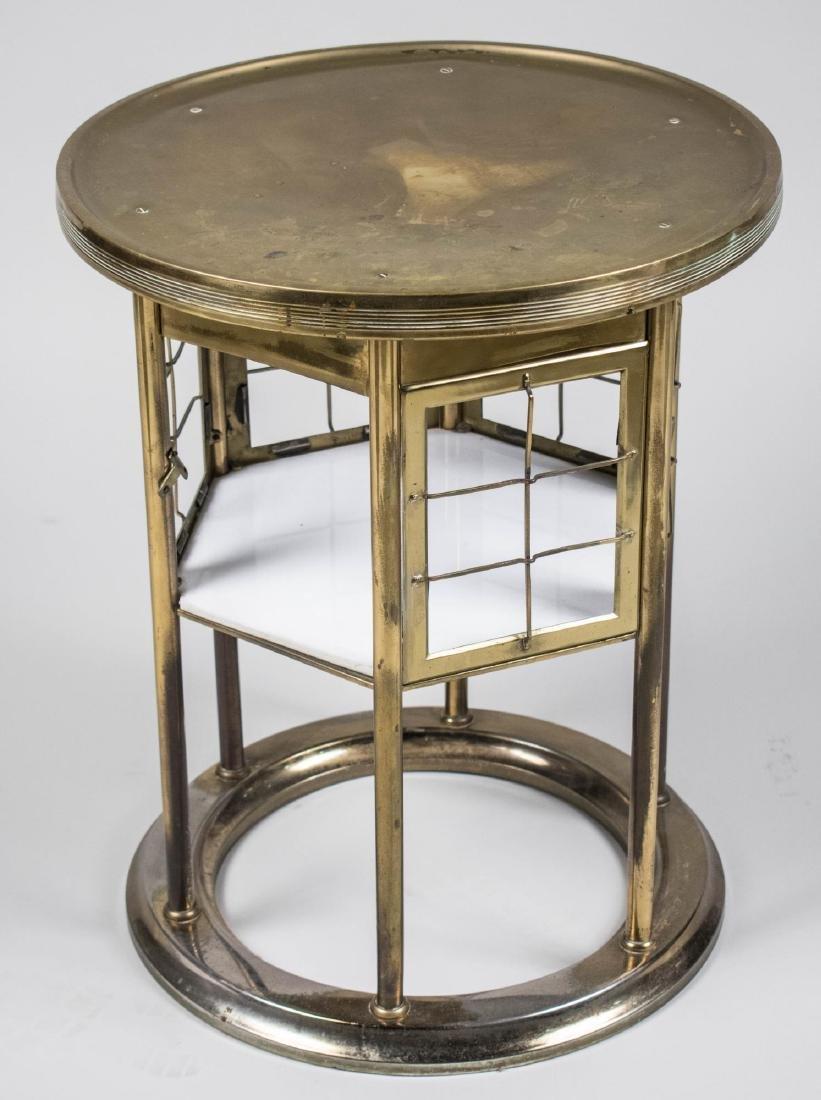 Circular Brass Table