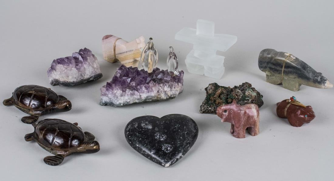 Mineral Specimen Animals and Decorations