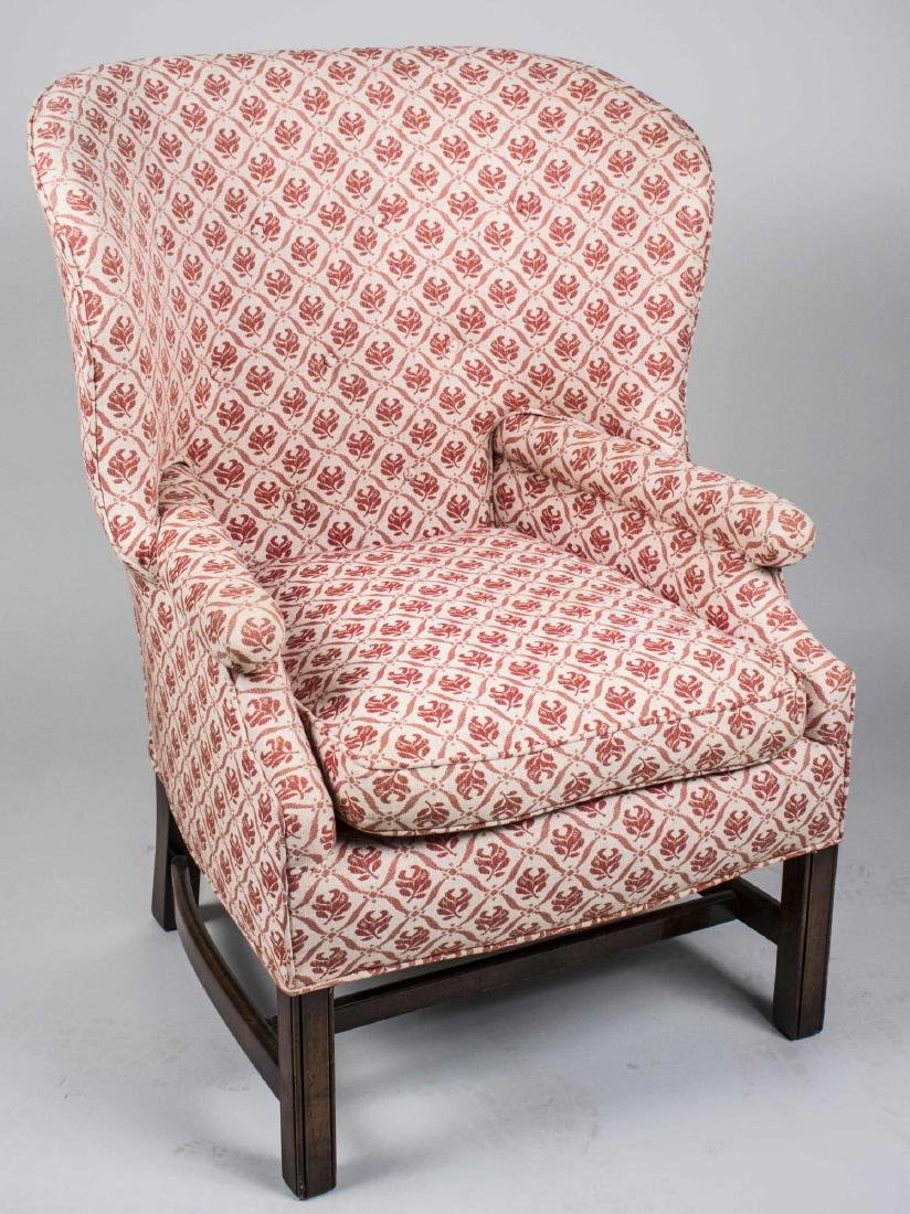 Victorian Style Wing Chair