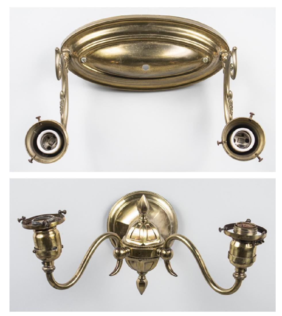 Two Brass Sconces